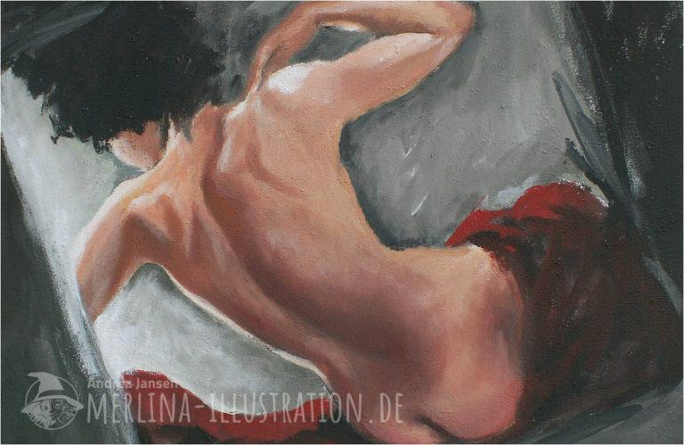 Beitragsbild zur Malerei Aktbild