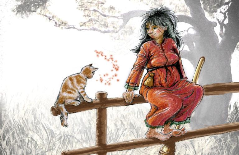 Beispiel für eine Kinderbuchillustration von Andrea Jansen